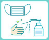 新型コロナウィルス感染拡大防止の取り組みとお客様へのお願い